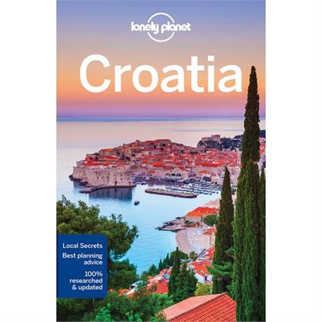 Lonely Planet Travel Guide Book: Croatia (9th Edition)