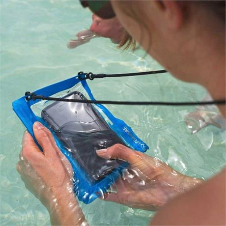 LifeVenture Hydroseal Phone Case Blue