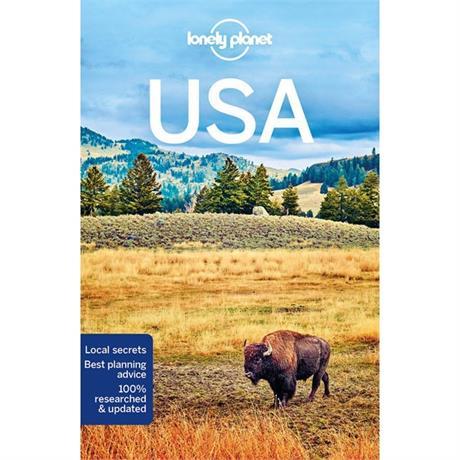 Lonely Planet Travel Guide Book: USA (10th Edition)