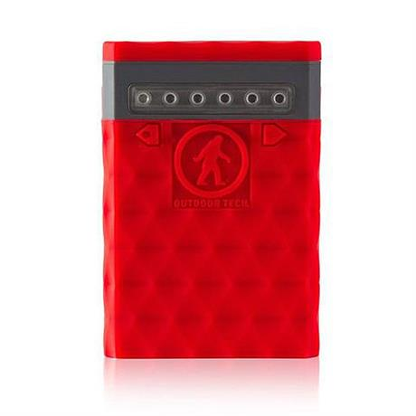 Outdoor Tech Kodiak Plus 2.0 Powerbank Red 10000 mAh