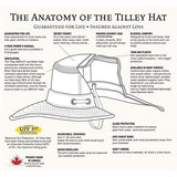 Tilley Hat T3 The Wanderer Snap-up Medium Brim Olive
