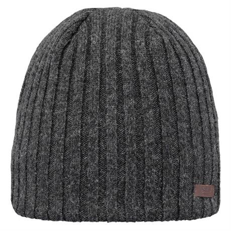 Barts Hat Men's Haakon Beanie Charcoal