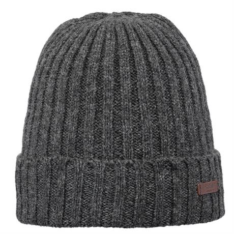 Men's Barts Haakon Turnup Beanie - Grey