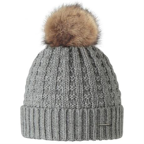 Barts Hat Women's Filippa Beanie Heather Grey