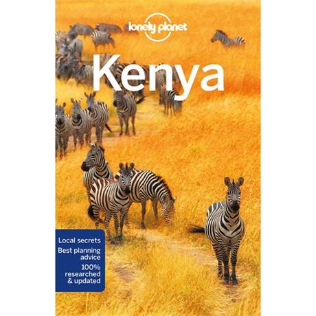 Lonely Planet Travel Guide Book: Kenya (10th Edition)