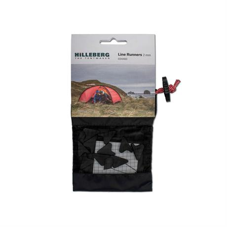 Hilleberg Tent Spare/Accessory Guy Line Runners 2mm (pack of 10)