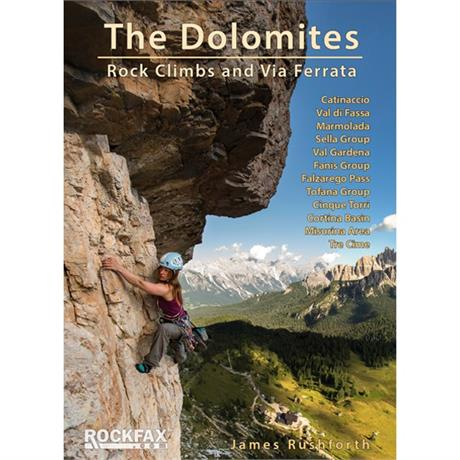 Rockfax Climbing Guide Book: The Dolomites - Rock Climbs and Via Ferrata