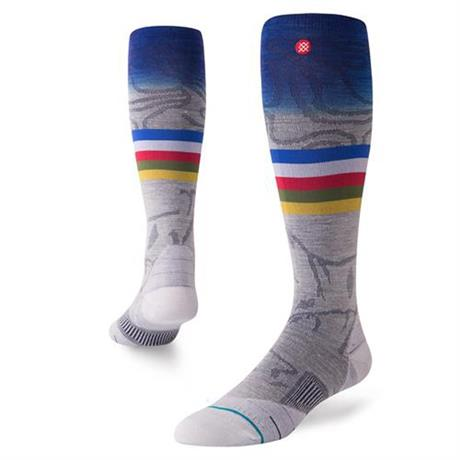 Stance SKI Socks Men's Jimmy Chin Grey