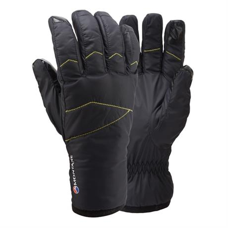 Montane Gloves INSULATED Men's Prism Black/Kiwi