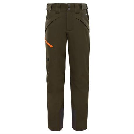 North Face SKI Pants Boy's Chakal Trousers New Taupe Green