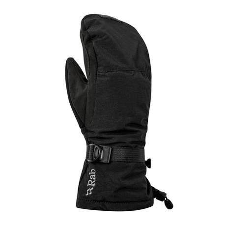 Rab Gloves WATERPROOF Men's Storm Mitts Black