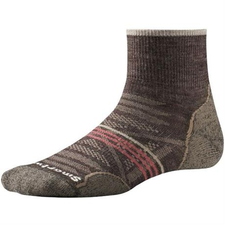 Smartwool HIKING Socks Women's PhD Outdoor Light Mini Taupe