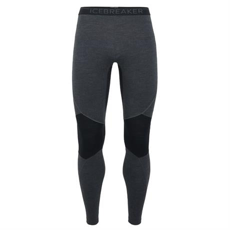 Icebreaker BASE LAYER Pant Men's 260 Zone Leggings Jet Heather/Black/Mineral