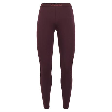 Icebreaker BASE LAYER Pant Women's 200 Zone Leggings Velvet/Prism