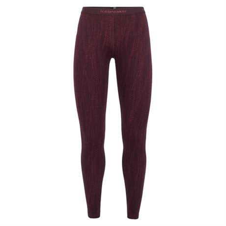 Icebreaker BASE LAYER Pant Women's 250 Vertex Leggings Drift Velvet/Prism