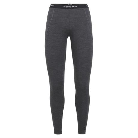 Icebreaker BASE LAYER Pant Women's 260 Zone Leggings Jet Heather/Black/Snow
