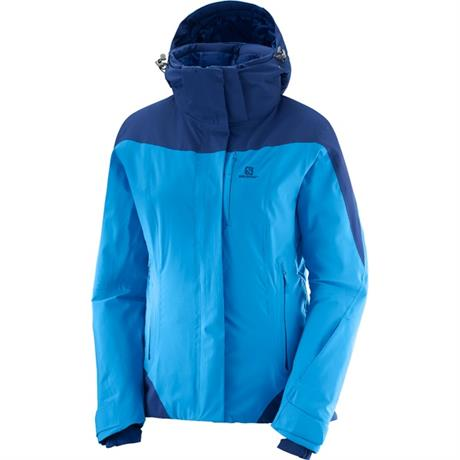 Salomon SKI Jacket Women's Icerocket Hawaiian Surf/Medieval Blue