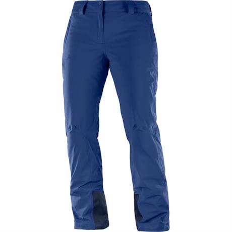 Salomon SKI Pants Women's Icemania Leg Trousers Medieval Blue