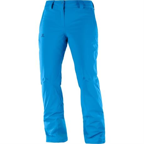 Salomon SKI Pants Women's Icemania REGULAR Leg Trousers Hawaiian Surf