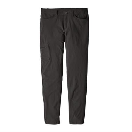 Patagonia Pant Women's Skyline Traveler SHORT Leg Trousers Black