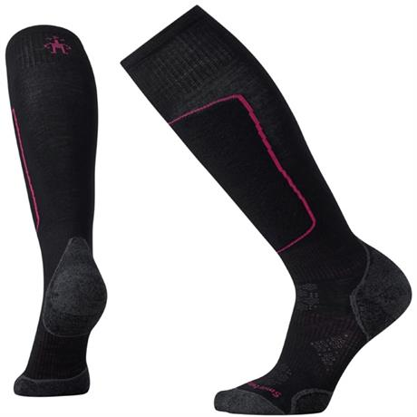Smartwool SKI Socks Women's PhD Light Elite Black