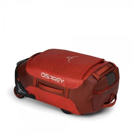 Osprey Travel Bag Rolling Transporter 40 Ruffian Red