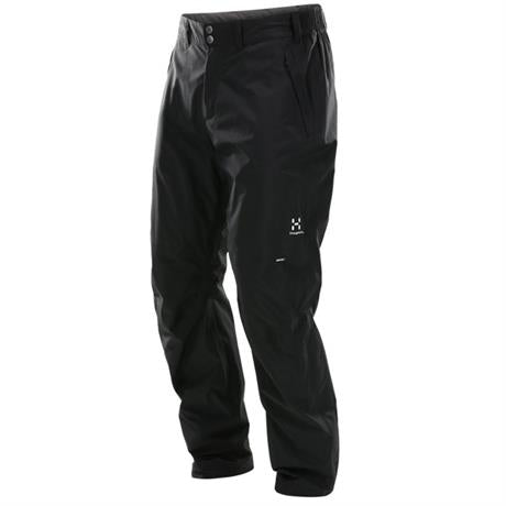 Haglofs WATERPROOF Overtrousers Men's Vandra Pant SHORT Leg True Black