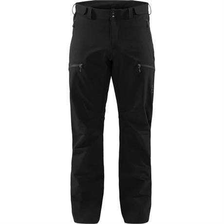 Haglofs Pant Men's Breccia REGULAR Leg Trousers True Black/Magnetite