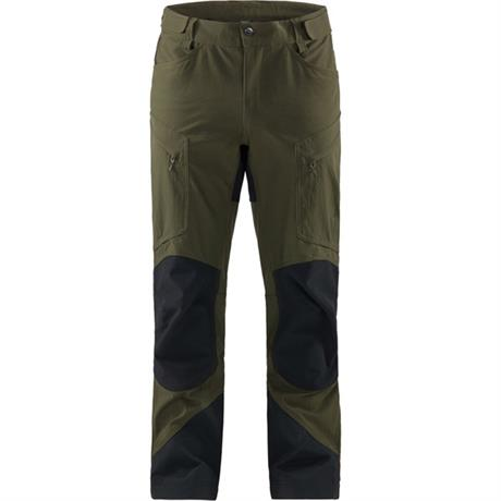 Haglofs Pant Men's Rugged Mountain REGULAR Leg Trousers Deep Woods/Black
