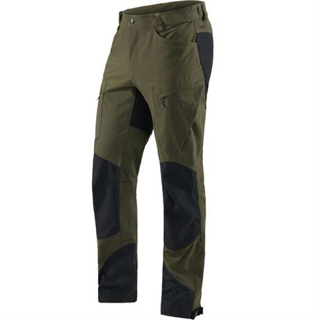 Haglofs Pant Men's Rugged Mountain SHORT Leg Trousers Deep Woods/Black