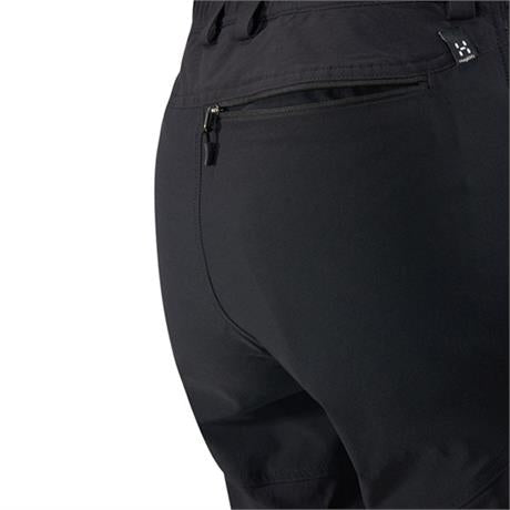 Haglofs Pant Women's Mid II Flex SHORT Leg Trousers True Black Solid
