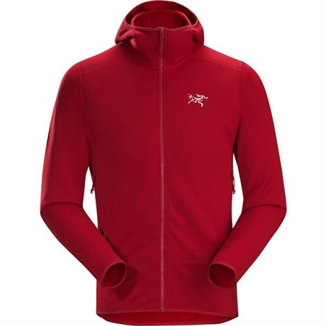 Arc'teryx FLEECE Jacket Men's Kyanite Hoody Red Beach