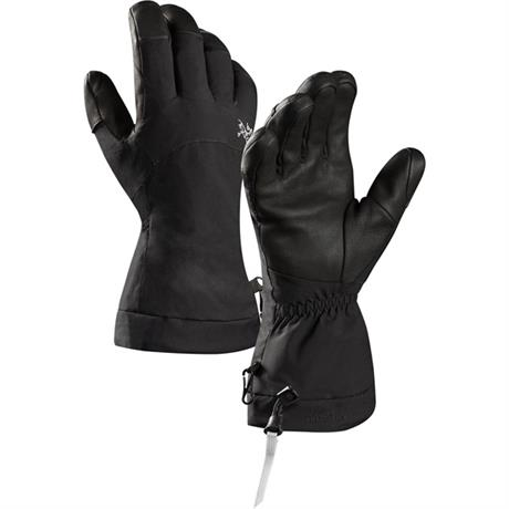 Arc'teryx SKI Gloves Fission Snow Sports Black
