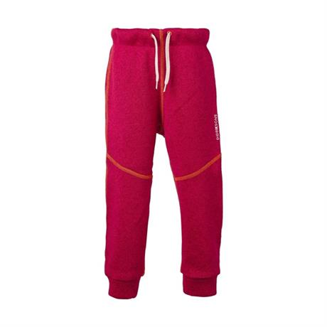 Didriksons Pant Kid's Strokken Fleece Trousers Warm Cerise