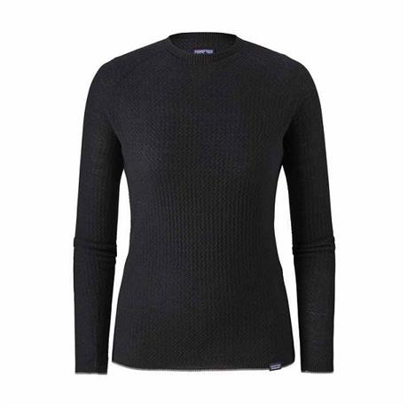 Patagonia BASE LAYER Top Women's Capilene Air Crew Black
