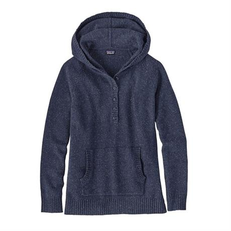 Patagonia Top Women's Off-Country Hoody Navy Blue