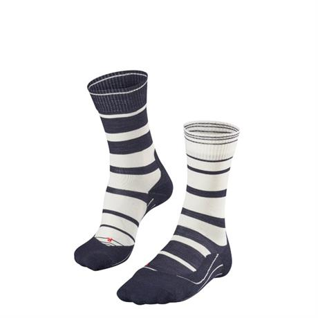 Falke HIKING Socks Women's TK5 Stripe Marine