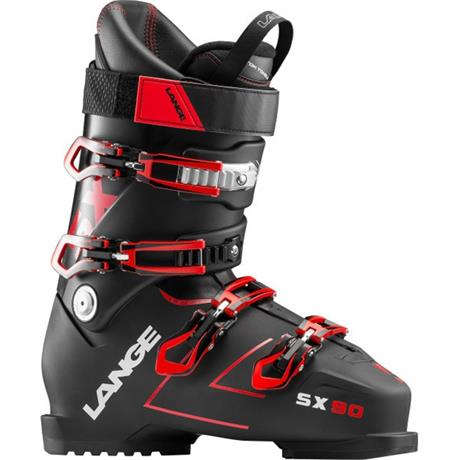 Lange SKI Boots Men's SX 90 Black/Red