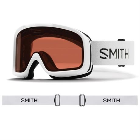 Smith Ski Goggles Project White RC36 Lens Cat 2