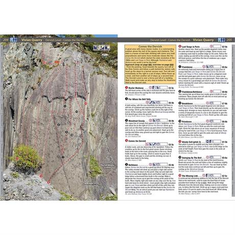 Rockfax Climbing Guide Book: North Wales Slate