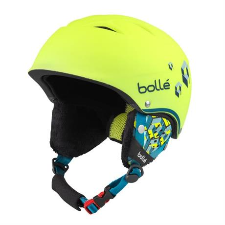 Bolle Ski Helmet Junior B-Free Neon Yellow