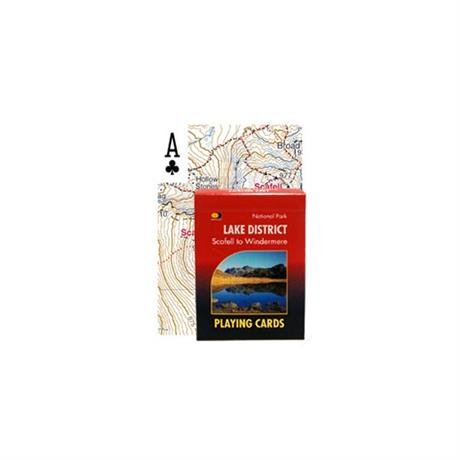 Harvey Maps Lake District Playing Cards