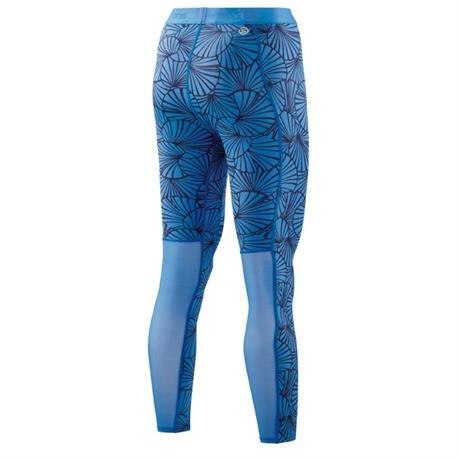 Skins Compression BASELAYER Pant Women's DNAmic 7/8 Tights Skyscraper Sunfeather