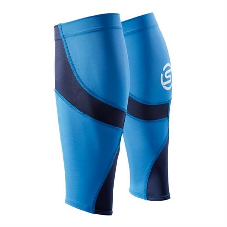 Skins Compression BASELAYER Unisex Calf Tights MX Bright Blue/Navy Blue