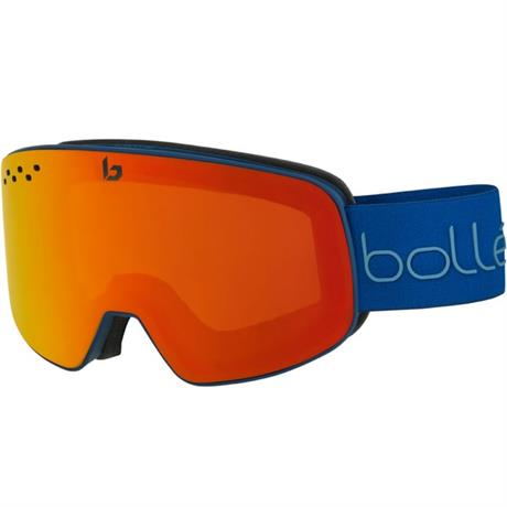Bolle Ski Goggles Nevada Matte Blue/Red/2 Lens