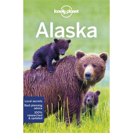 Lonely Planet Travel Guide Book: Alaska (12th Edition)