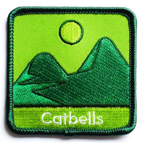 Conquer Lake District Patch - Catbells