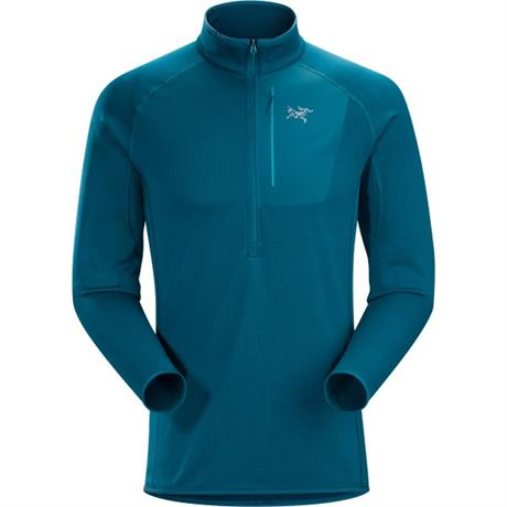Arc'teryx FLEECE Top Men's Konseal Zip Neck Pullover Iliad Blue