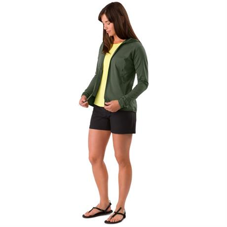 Arc'teryx FLEECE Jacket Women's Adahy Hoody Larix Green