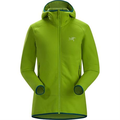 Arc'teryx FLEECE Jacket Women's Kyanite Hoody Utopia Green